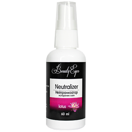 Beauty Eyes Нейтрализатор испарения клея с ароматом LOTUS 60 ml