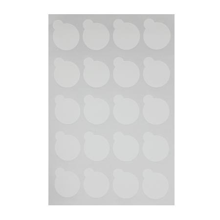 Стикеры для клея 2,5см 20 шт на листе