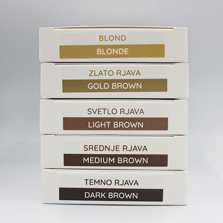 "As-Brows ""GOLDEN BROWN"" Brow Henna set (3 sachets), 3g"