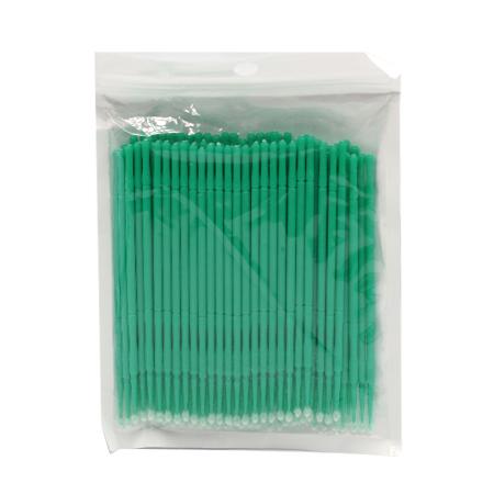 Микробраши зеленые, пакет, 100шт в упаковке