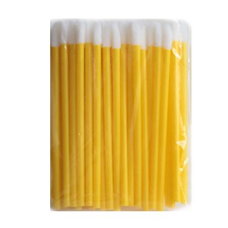 """Макробраши-аппликатор """"Желтый"""" 50шт в упаковке"""