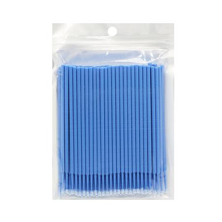 Микробраши голубые, пакет, 100шт в упаковке