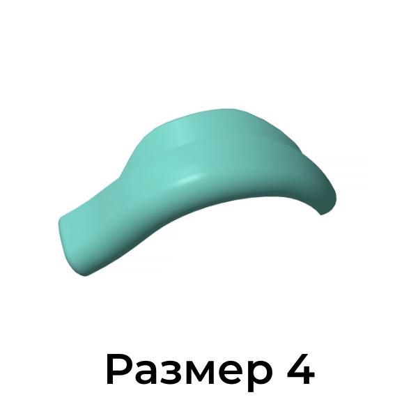 Валики для ламинирования и биозавивки ресниц Кати Виноградовой  размер 4, 1 пара