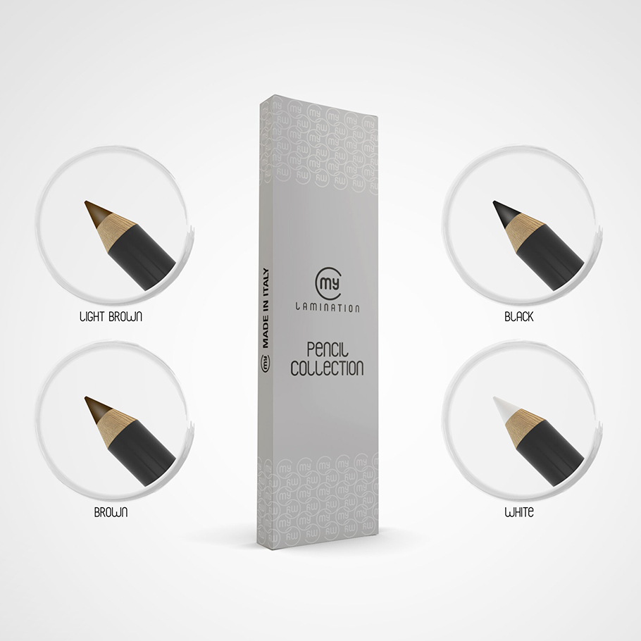Набор карандашей для бровей My Lamination®  4 цвета